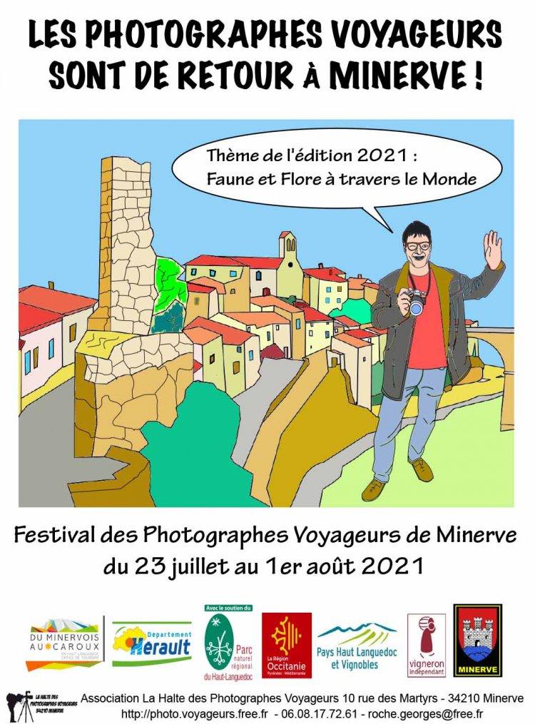 APPEL À CANDIDATURE - FESTIVAL DES PHOTOGRAPHES VOYAGEURS DE MINERVE