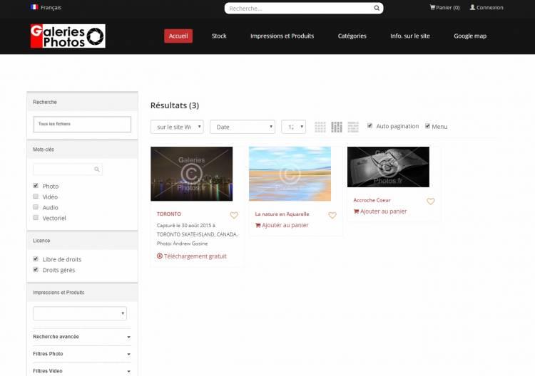 Sauvegarder vos photos sur nos serveurs gratuitement
