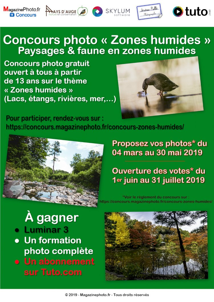 """Concours Photos """"Zone Humides"""""""