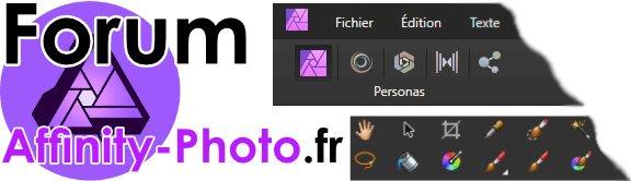 Un forum dédié à Affinity Photo